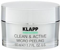 Klapp Clean&Active Micro Peeling - Базовый микропилинг из косточек арганы, 250 мл