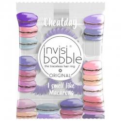 Invisibobble Cheat Day Macaron Maythem - Резинка ароматизированная, 3шт