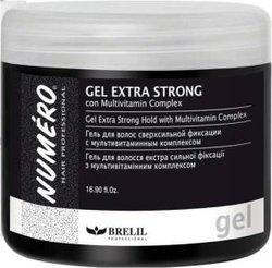 Brelil Numero Extra Strong - Гель для волос сверхсильной фиксации, 500 мл