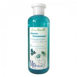 Green Mama Морской сад - Шампунь Биоламинация от секущихся волос с морскими водорослями, 400 мл