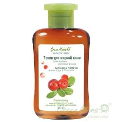 Green Mama Формула тайги - Тоник для жирной кожи Брусника и Чистотел, 300 мл