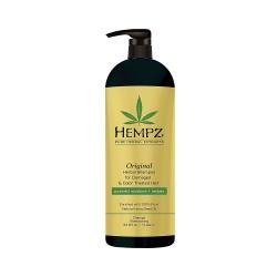 Hempz Original Herbal Shampoo For Damaged & Color Treated Hair - Шампунь растительный Оригинальный для поврежденных окрашенных волос, 1000 мл