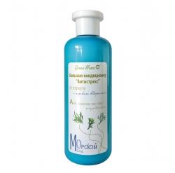 Green Mama Морской сад - Бальзам-кондиционер Антистресс от перхоти с морскими водорослями, 400 мл