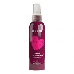 Ollin Beauty Family Jojoba Fluid - Флюид с маслами жожоба и макадамии, 120мл