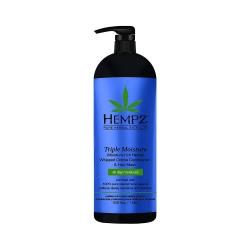 Hempz Triple Moisture Replenishing Conditioner - Кондиционер Тройное увлажнение, 1000 мл