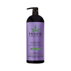 Hempz Vanilla Plum Herbal Moisturizing & Strengthening Conditioner - Кондиционер растительный увлажняющий и укрепляющий Ваниль и Слива, 1000 мл