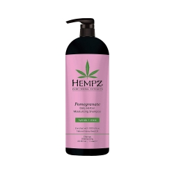 Hempz Daily Herbal Moisturizing Pomegranate Shampoo - Шампунь растительный увлажняющий и разглаживающий Гранат, 1000 мл