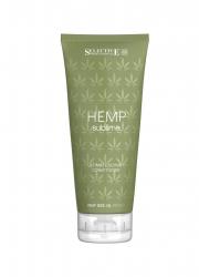 Selective Hemp Sublime Ultimate Luxury Conditioner - Кондиционер увлажняющий для сухих и поврежденных волос с маслом семян конопли, 200мл
