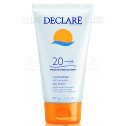 Declare Anti-Wrinkle Sun Lotion SPF 20 - Солнцезащитный лосьон SPF 20 с омолаживающим действием, 150 мл