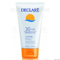 Declare Anti-Wrinkle Sun Lotion SPF 30 - Солнцезащитный лосьон SPF 30 с омолаживающим действием, 150 мл
