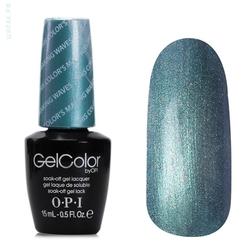Opi GelColor Color's Making Waves, - Гель-лак для ногтей, 15мл