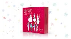 Estel Little Me - Набор-квартет для девочек Весёлая затея (шампунь, пена,спрей д/волос, бальзам д/губ)
