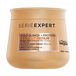 L'Oreal Professionnel Absolut Repair Gold Quinoa+Protein Golden Masque — Маска с золотой текстурой для восстановления волос 250 мл