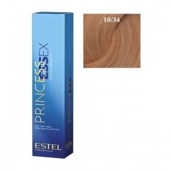 Estel Princess Essex - Краска для волос 10/34 светлый блондин золотисто-медный/шампань, 60 мл