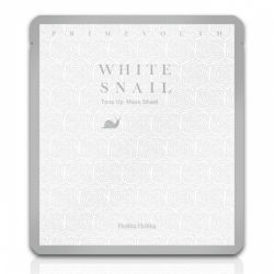 Holika Holika Prime Youth White Snail Tone Up Mask Sheet - Гидрогелевая маска с муцином белой улитки, 30 мл