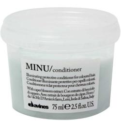 Davines Essential Haircare Minu Conditioner - Защитный кондиционер для сохранения цвета волос, 75 мл