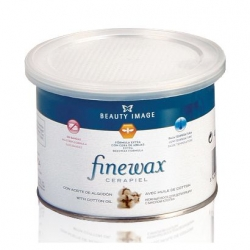 Beauty Image - Воск пленочный в банке Finewax с маслом хлопка, 400 г