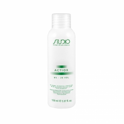 Kapous Professional ActiOx - Кремообразная окислительная эмульсия с экстрактом женьшеня и рисовыми протеинами 6%, 150 мл
