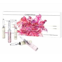 Christina Muse Cell Shield Ampoules - Ампулы с препаратом для восстановления защитного барьера кожи (дневные и ночные), 10*2 мл