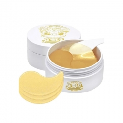 Elizavecca Milky Piggy Hell-Pore Gold Hyaluronic Acid Eye Patch - Гидрогелевые патчи с золотом и гиалуроновой кислотой для кожи вокруг глаз, 60 шт