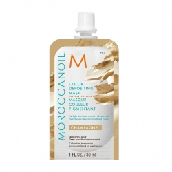 Moroccanoil Color Depositing Mask Champagne - Тонирующая маска (шампань) 30 мл