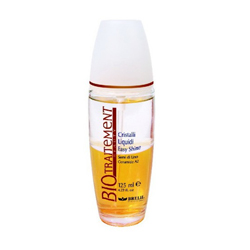 Brelil Bio Traitement Beauty Easy Shine Liquid Crystal - Двухфазный спрей-кондиционер для блеска и восстановления 125 мл