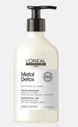L'Oreal Professionnel Metal Detox - Смываемый уход для восстановления окрашенных волос 500 мл
