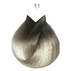 L'Oreal Professionnel Majirel - Краска для волос 9.1 (очень светлый блондин пепельный), 50 мл