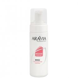 Aravia Professional - Мусс после депиляции с экстрактом хлопка, 160 мл