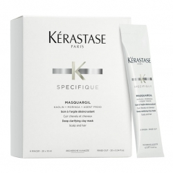Kerastase Specifique Masquargil Cleansing Treatment  - Маска - глина для интенсивного очищения Маскаржиль Керастаз, 20*10 мл