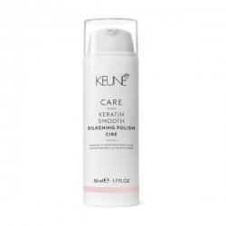 Keune Care Line Keratin Smooth Silk Polish - Крем Шелковый глянец с кератиновым комплексом 50 мл
