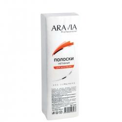 Aravia Professional - Полоски нетканые для депиляции, 76*230 мм, 90 г/м, 100 шт./уп