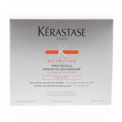 Nutritive Protocole Concentrate Soin №1 - Иммунитет против сухих волос Керастаз Нутрив Ирисом , 500 мл