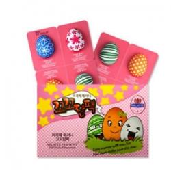 Milatte Fashiony Egg Peel-Off Cream Pack - Крем-маска для лица набор, 8 шт