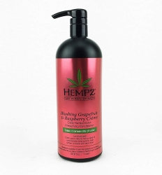 Hempz Blushing Grapefruit&Raspberry Creme Conditioner - Кондиционер Грейпфрут и Малина для окрашенных волос, 1000 мл