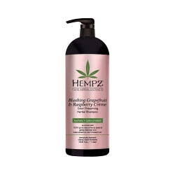 Hempz Blushing Grapefruit&Raspberry Creme Shampoo - Шампунь Грейпфрут и Малина для окрашенных волос, 1000 мл