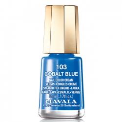 Mavala - Лак для ногтей тон 103 Кобальтовый ультрамарин/Cobalt Blue , 5 мл