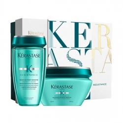 Kerastase Resistance - Подарочный набор для поврежденных и ослабленных волос (Шамп+маска)