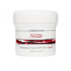 Christina Chateau De Beaute Shielding Cream SPF 20 - шаг 6: Защитный крем SPF 20, 150 мл