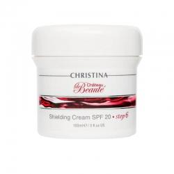 Christina Chateau De Beaute Shielding Cream SPF 20 - шаг 6: Защитный крем SPF 20, 150 мл