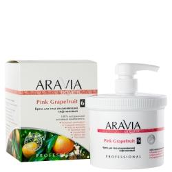 Aravia Organic - Крем для тела увлажняющий лифтинговый Pink Grapefruit, 550 мл