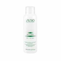 Kapous Professional ActiOx - Кремообразная окислительная эмульсия с экстрактом женьшеня и рисовыми протеинами 3%, 150 мл