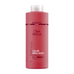 Wella Invigo Color Brilliance - Шампунь для защиты цвета окрашенных жестких волос  1000 мл