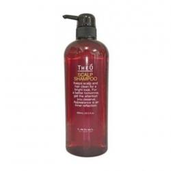 Lebel Theo Scalp Shampoo - Многофункциональный шампунь для мужчин 600 мл