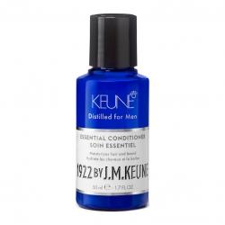 Keune 1922 Care Essential Conditioner -  Универсальный кондиционер для волос и бороды, 50 мл