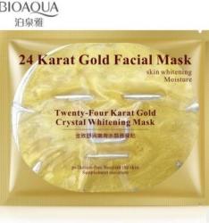 Bioaqua - Гидрогелевая маска 24К золотом, 60 г