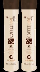 Honma Tokyo Coffee Care Strong - Набор (Шампунь, маска), 2*1000 мл