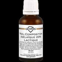 Gemmis Peel-Composition Azélaïque 20% Lactique. PH 2.0 - Азелаиново-молочная пил-композиция 20%, 30 мл
