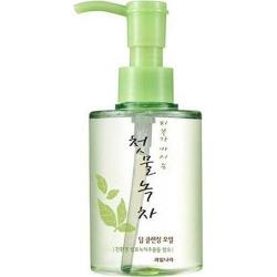Welcos Green Tea Deep Cleansing Oil - Гидрофильное масло с экстрактом зеленого чая, 170 мл