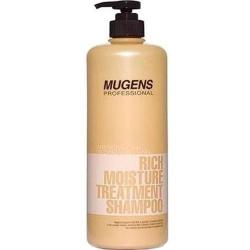 Welcos Mugens Rich Moisture Treatment Shampoo - Шампунь для волос увлажняющий, 1000 мл